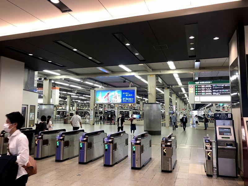 阪急梅田駅南改3階改札