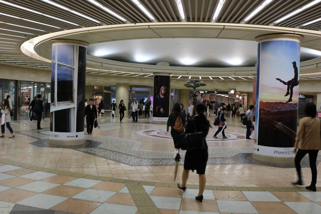 ディアモールの円形広場