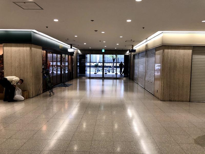 大阪駅前第2ビルの1階