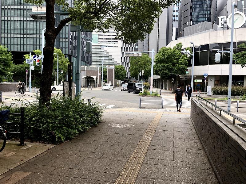 梅田1丁目の交差点
